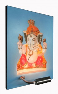 Baby Ganesha ABR Blue Panel Left Side