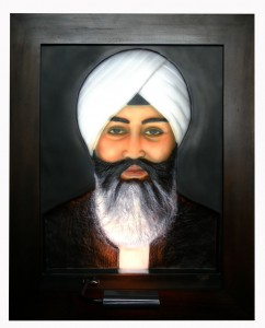 Babaji ABR Antique Wood Frame Front Side
