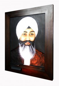 Babaji ABR Antique Wood Frame Right Side